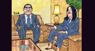 Caricatura de Molina del Domingo, 2 de setiembre de 2018