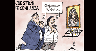 Caricatura de Molina del domingo 23 se setiembre del 2018