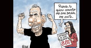 Caricatura de Molina del domingo 30 de setiembre del 2018