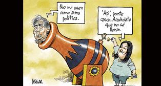 Caricatura de Molina del domingo 07 de octubre de 2018