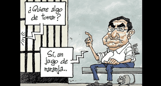 Caricatura de Molina del domingo 21 de octubre del 2018
