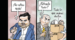 Caricatura de Molina del domingo 13 de enero del 2019