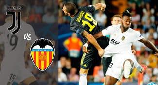 Juventus ganó 2-0 al Valencia en el grupo H