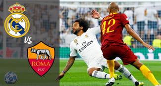 Real Madrid ganó 3-0 a la Roma en la Champions