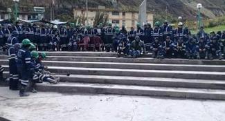 Mineros de Casapalca anuncian bloqueo de Carretera Central