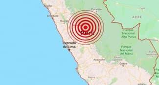 Sismo de magnitud 4.0 alarmó Huánuco