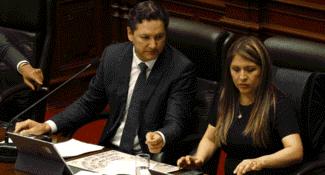 Suspenden programa 'Sin Corrupción' de Yeni Vilcatoma