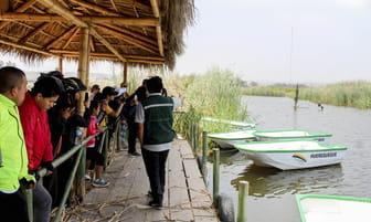Actividades educativas y deportivas en los Pantanos de Villa [FOTOS]