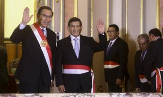 Ex miembro del Gein: Carlos Morán juramentó como nuevo ministro del Interior [FOTOS]