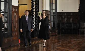 Angelina Jolie se reunió con Presidente Matín Vizcarra en Palacio de Gobierno [FOTOS]