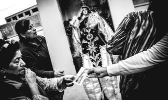 Chincha: devotos de la Virgen del Carmen realizaron peregrinación [FOTOS]