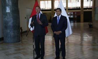 MININTER: Carlos Moran y Jorge Muñoz se reunieron para tratar temas de Seguridad Ciudadana [FOTOS]