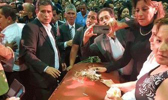Fallecido Alan García es velado en la Casa del Pueblo [FOTOS]