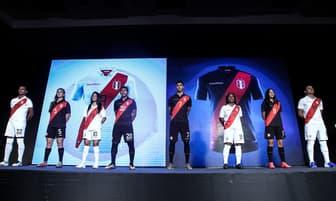 Presentan nueva camiseta de Perú para la Copa América [FOTOS]