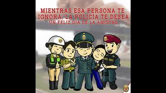 Policia Nacional Deja Un Particular Saludo En Facebook Por El Dia De