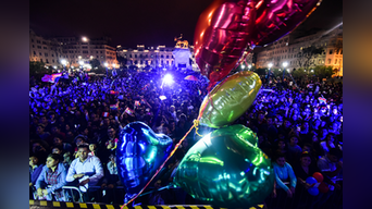 Así se desarrolló la multitudinaria Marcha del Orgullo LGBTI en Lima. FOTO: MELISSA MERINO