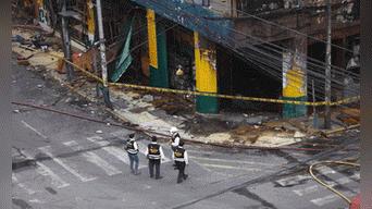 Seguridad del Estado investigará las causas del incendio en Las Malvinas Foto: Michael Ramon
