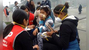 Familiares de las víctimas recibieron apoyo del Ministerio de la Mujer Foto: Hanslitt Cruzado