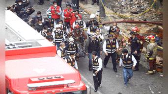 Los cuerpos fueron trasladados a la Morgue de Lima Foto: Michael Ramon