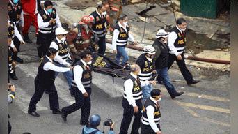 Se supo que los cadáveres estaban completamente calcinados por el fuego. Solo pudo encontrarse algunos restos óseos Foto: Michael Ramon