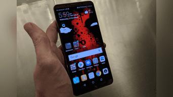El Huawei Mate 10 Pro deslumbró a los amantes de la tecnología en el CES 2018. Foto: Huawei
