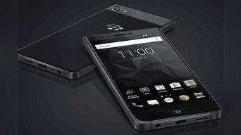 Blackberry  lució sus últimos teléfonos KeyOne y Motion. Foto: Blackberry