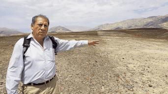 Arqueólogo. Johny Isla ha creado un nuevo método para recuperar los geoglifos.