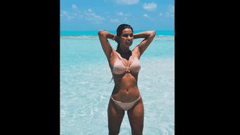 Ivana Yturbe causa sensación con sus fotos en bikini. Foto: Instagram