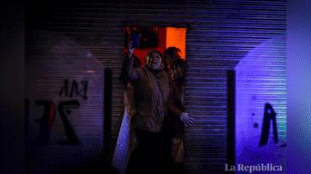 Lo más afectados fueron comerciantes del cercado de Lima Foto: Jorge Cerdan