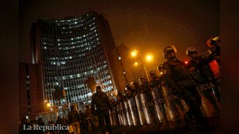 Lo más afectados fueron comerciantes del cercado de Lima Foto: Mauricio Malca
