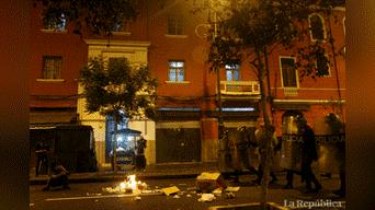 Lo más afectados fueron comerciantes del cercado de Lima Foto: Hanslitt Cruzado