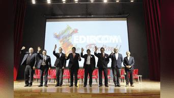 De los diecinueve candidatos a la alcaldía de Lima , en este primer debate se presentaron ocho postulantes. Foto: Jorge Cerdan