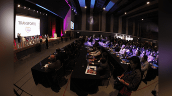 Primer debate para la alcaldía de Lima 2018. Foto: Jorge Cerdan