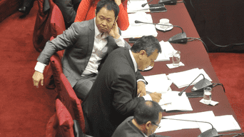 Kenji Fujimori, Guillermo Bocángel y Bienvenido Ramírez quedaron inhabilitados por el Parlamento.