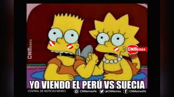 Memes de Perú vs Suecia