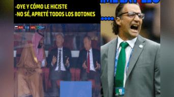 Memes más populares tras goleada de Rusia a Arabia Saudita