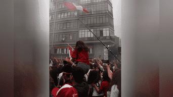 Miraflores: así se vivió el final del 1 a 0 con Dinamarca [FOTOS]