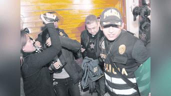 Walter Ríos anoche fue trasladado a la carceleta del Ministerio Público. De administrador de justicia pasó a cumplir prisión preventiva.