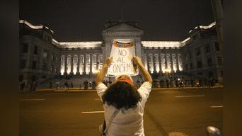 El rechazó contra el Poder Judicial fue total. Foto: Michael Ramón.