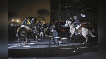 Durante el trayecto la marcha se dispersó por distintos puntos del Centro de Lima. Foto: Michael Ramón.
