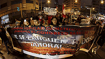 Miles de indignados exigen reformas profundas en sistema de justicia.