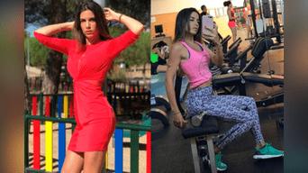 La novia de André Carrillo regresó al gimnasio para tonificar su figura tras el nacimiento de sus pequeños. Imágenes: Instagram