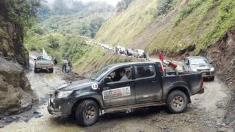 RETO. Caravana atravesará distritos del VRAEM para mostrar su potencial turístico. Foto: Difusión.