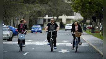 Expertos recomiendan adoptar hábitos de movilidad sostenible. Fotografía: Archivo La República.