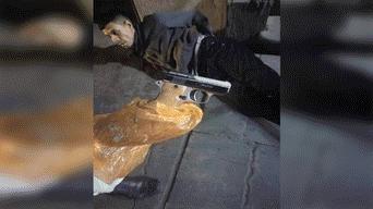 """Arequipa: Capturan a """"marca"""" limeño antes de que asalte una pizzería"""