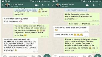 Con falsas conversaciones de WhatsApp pretenden desvirtuar a periodista de La República.