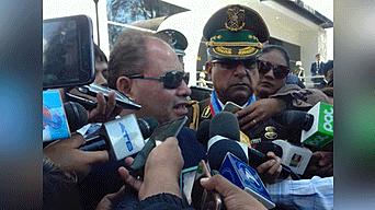 Ministro de Gobierno, Carlos Romero.