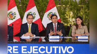 EL DATOGobernadores regionales Luis Valdez Farías y Yamila Osorio Delgado expresaron su respaldo a la propuesta del presidente Vizcarra. Igual lo hicieron otras diez autoridades.