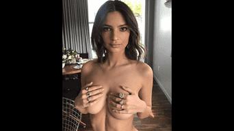 Emily Ratajkowski cada vez más se atreve a más en sus redes sociales. Foto: Instagram