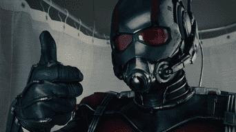 Está por llegar. Ant-Man. Cuenta la vida de Scott Lang y como se convierte en un superhéroe.